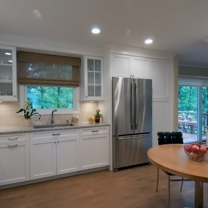 Interior Design of Transitional Kitchen