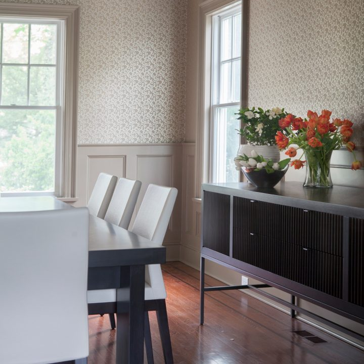Colorful Scarsdale Dining Room